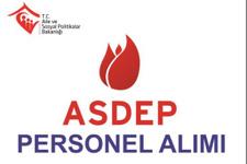 ASDEP iş başvurusu alımlar ne zaman başlıyor?