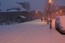 Gümüşhane kar geldi son hava durumu