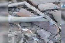 Reyhanlı'da roketli saldırının sıcak görüntüleri