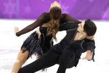 Olimpiyatlarda türk çiftin kıyafeti yarışmanın önüne geçti