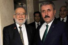 Saadet Partisi'ne giden Destici'den ittifak açıklaması