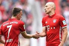 Bayern Münih'te Robben ve Ribery şoku!