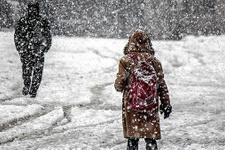 Vali kar tatili vermeyince öğrenciler tepkilerini böyle gösterdi