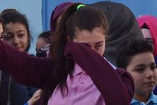 Afrin'e uğurlama töreninde o anlar böyle görüntülendi