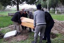 Ateist vatandaş tıraş takımı ile gömüldü!