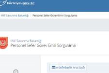 Sefer görev emri nedir e-devlet sefer görev emri sorgulama sayfası