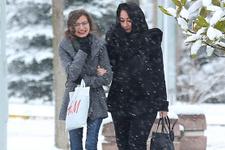 Edirne'de yoğun kar yağışı! Okullar tatil mi?