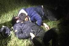 Ormanda mışıl mışıl uyurken yakalandılar!