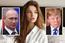 Ünlü eskort kız Putin'i de Trump'ı da yakabilir...