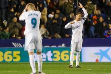 Real Madrid Levante deplasmanında 2 puan bıraktı