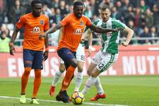 Konyaspor Başakşehir maçı golleri ve geniş özeti