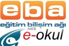 EBA kurs kayıt ekranı MEB e-Okul giriş sistemi açıldı