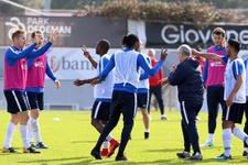 Trabzonspor'da 6 eksikle çalıştı