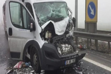 TEM'de ölümlü kaza trafik kilitlendi!