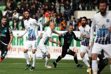 Adana Demirspor deplasmanda kazandı