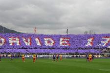Fiorentina-Benevento maçında Astori anıldı