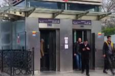 Asansörde rezillik İranlı kadın...