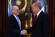 Erdoğan dünyaca ünlü markanın CEO'sunu ağırladı