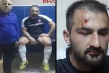 Teknik direktörden isyan videosu: Resmen seyircisi, yöneticisi komple bizi dövdüler
