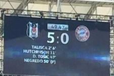 Beşiktaş 50. dakikada 5-0'ı yakaladı!