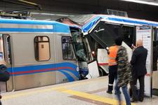 Topçular'da tramvaylar çarpıştı! Yaralılar var