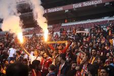 Galatasaray idmanına taraftarlar akın etti