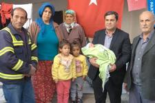 Oğullarına 'Afrin Erdoğan' adını verdiler