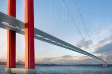 Dünyanın en uzun asma köprüsünün temeli atıldı! Erdoğan müjdeyi verdi...