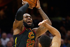 LeBron James'ten triple double