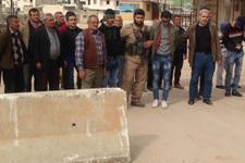 Afrin halkı ve muhtarlardan TSK'ya destek!