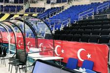 Fenerbahçe'den Maccabi'ye Türk bayraklı cevap