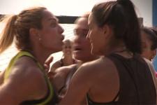Survivor'da Nagihan-Sahra kavgasından olay görüntüler!