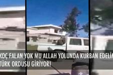 Türk ordusunu görünce ne yapacağını şaşırdı