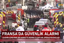 Fransa'da süpermarkette DEAŞ dehşeti ölü ve yaralılar var