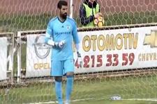 Volkan Demirel 40 metreden gol yedi