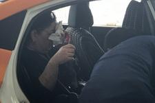 Kadın yolcuyu darbettiği söylenen UBER şoförü serbest