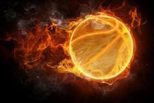 Basketbol maçında yasa boğan ölüm