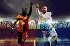 Galatasaray Trabzonspor derbisinde gözler golcülerde