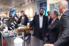 Suudi prens ABD'de kahve sırasına girdi! Kahvesinin üstüne...