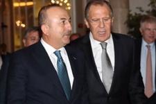 Çavuşoğlu Lavrov ile telefonda görüştü