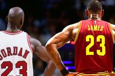 LeBron James Jordan'ın rekorunu kırdı