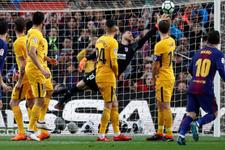 Barcelona Atletico Madrid'e geçit vermedi