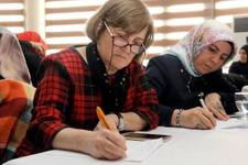 Kağıthaneli kadınlar Mehmetçiğe mektup yazdı
