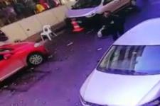 Döviz bürosunu soyan zanlının yakalanması kamerada