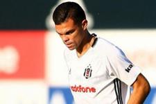 Pepe'den Beşiktaş'a müjdeli haber