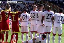 Yeni Malatyaspor-G.Birliği maçında ilginç baraj