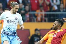 Trabzonspor Galatasaray'a karşı koyamadı