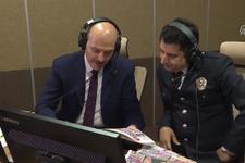 Soylu, Polis Radyosu'nda 'Güne Merhaba' programını sundu