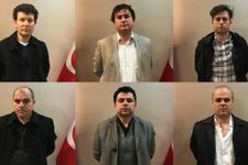 Kosova'da yakalanan FETÖ'cüler adliyeye çıkarıldı...