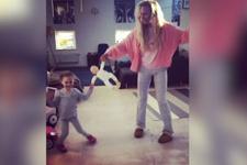 Meryem Uzerli'nin kızıyla yaptığı dans sosyal medyayı salladı